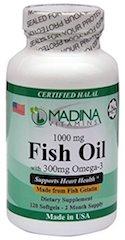 Madina Vitamins Halal Omega 3 Fish Oil