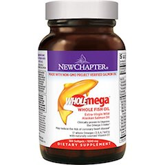 New Chapter Halal Omega 3 Fish Oil