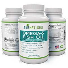 EdieNaturals Halal Omega 3 Fish Oil