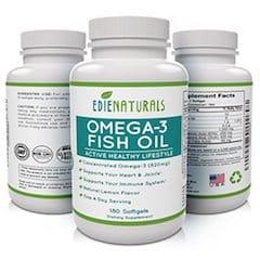 EdieNaturals Halal Omega 3 Fish Oil
