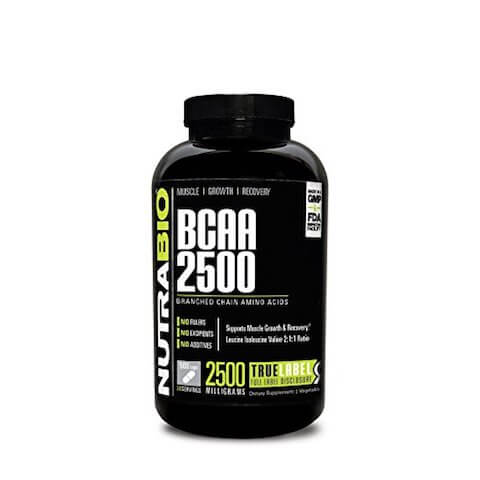 Best BCAA Supplement of 2018: Nutrabio BCAA