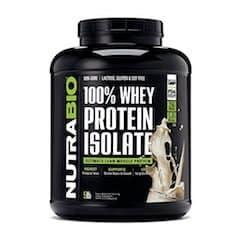 NutraBio Halal Whey Protein Powder
