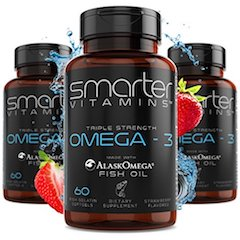 SmarterVitamins Halal Omega 3 Fish Oil