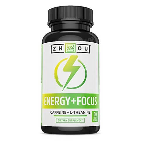 Best caffeine supplement of 2018: Zhou Energy+Focus Caffeine