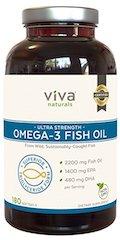 Viva Naturals Halal Omega 3 Fish Oil