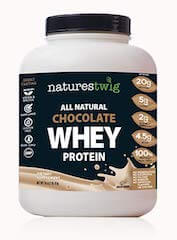 NaturesTwig All Natural Chocolate Whey Protein