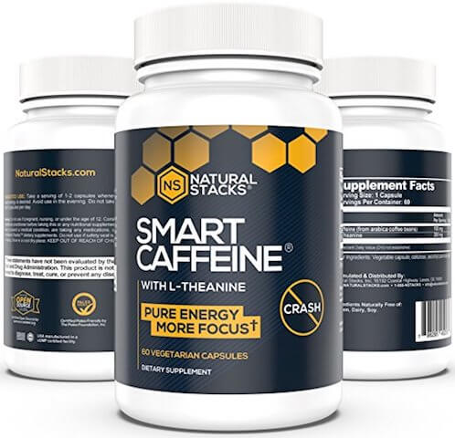 Best caffeine supplement of 2018: Natural Stacks Smart Caffeine