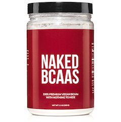 Best BCAA Supplement of 2018: Naked BCAA