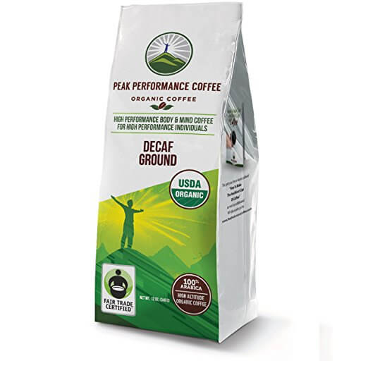 Peak Performance Coffee- Decaf Coffee