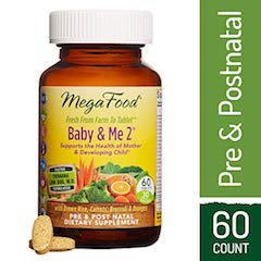 MegaFood - Baby & Me 2, Twice Daily Prenatal and Postnatal Supplements