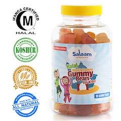 Salaam Nutritionals Children's Halal Gummy Multivitamins