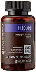 Amazon Elements Iron Bisglycinate