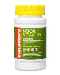 Noor Vitamins Children's Chewable Multivitamins