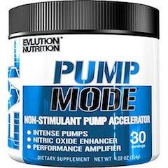 Evlution Nutrition Pump Mode Nitric Oxide Booster