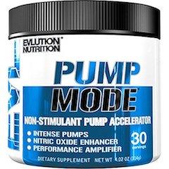 Evlution Nutrition Pump Mode Nitric Oxide Booster