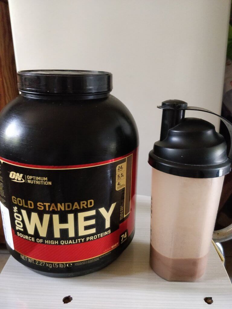 Gold Standard 100% Whey Protein Powder Double Rich Chocolate Test and Review
