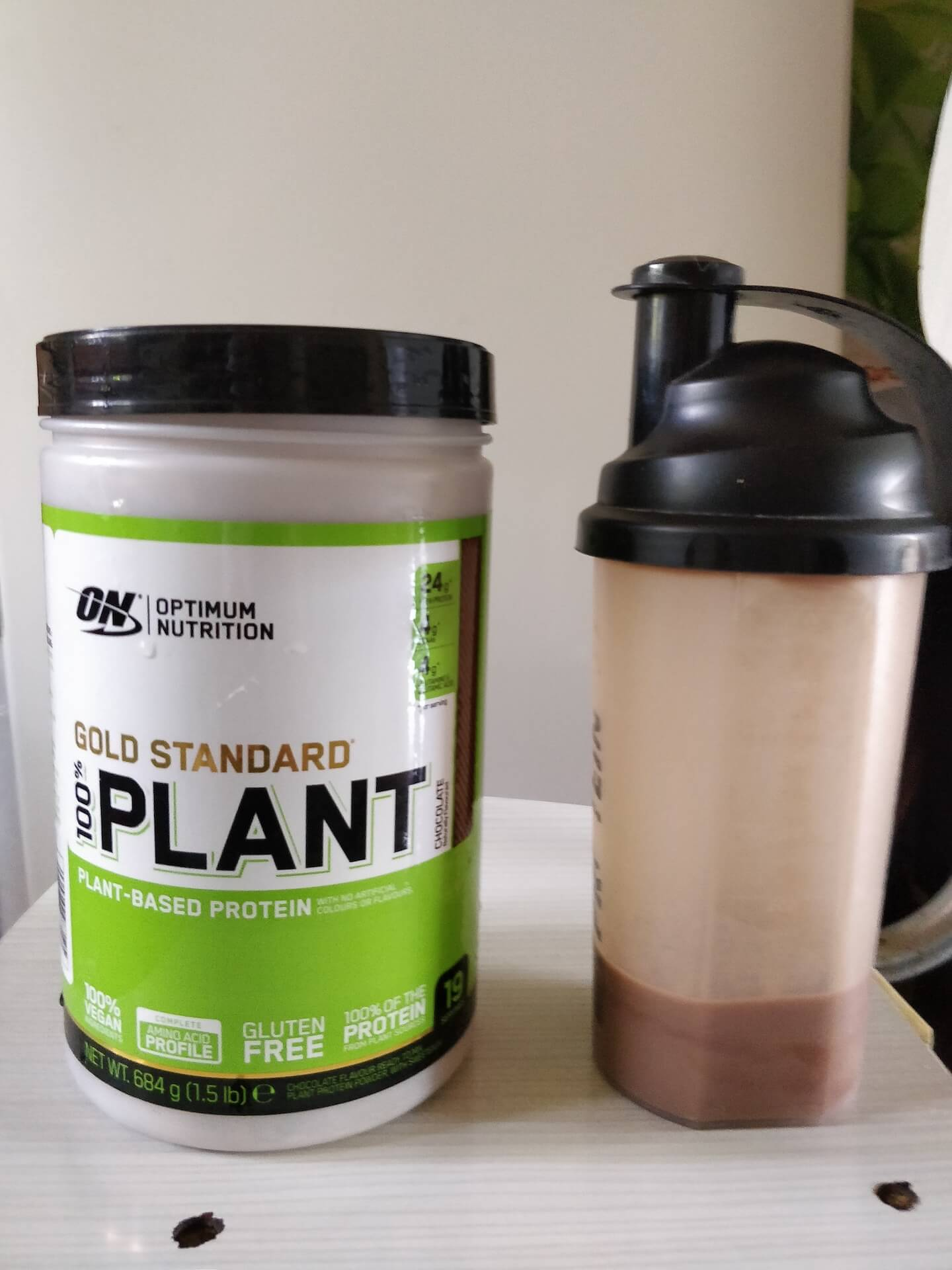 Gold Standard 100% Plant Based Protein Powder (1.5 pound Chocolate) Tastiness, Mixability, and Price